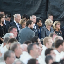 Vice President Joseph Biden was among the guests in attendance at the papal Mass.
