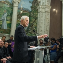 Cardinal Wuerl said the Pope's visit will be a time of God's grace at work among us in a unique way.