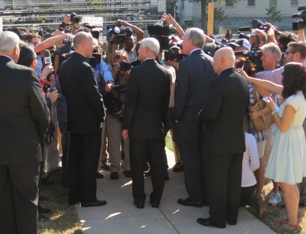Press Conference Highlights Preparations for Papal Visit