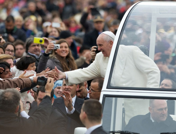 Archdiocese of Washington Announces Parade Route for Pope Francis in Washington