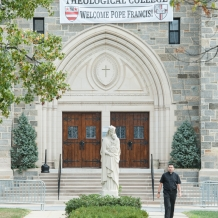 CUA Theological College Welcoming the Pope