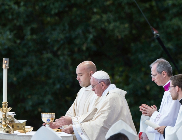 Deacon Keith Burney: At the Altar beside Pope Francis, Deacon Is Reminded of His Calling to Serve