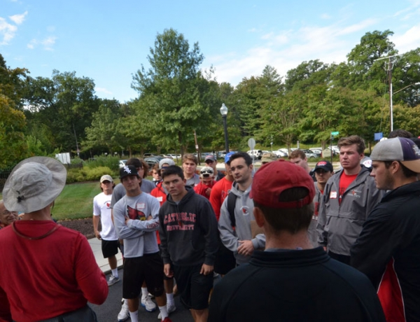 CUA Student-athletes Give Back to the Community through Service