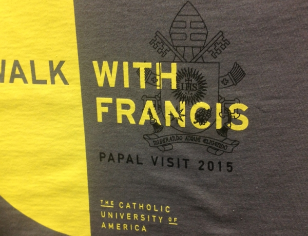 Campus Ministry to Sell Walk with Francis T-shirts to Benefit Mission Trips