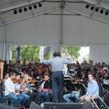 Final Rehearsal from the Orchestra