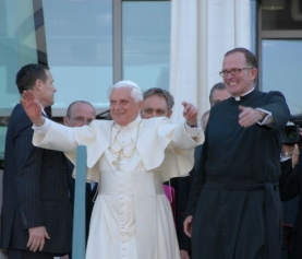 Bishop David O'Connell: CUA Rocks the Pope